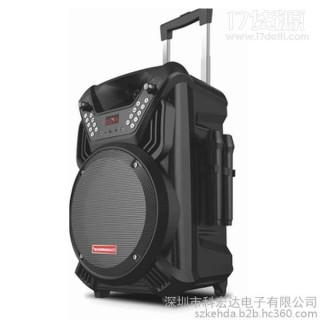 CYD-159S长虹户外音响15寸电瓶箱广场舞音响便携式户外音响地摊叫卖音箱大功率扩音器
