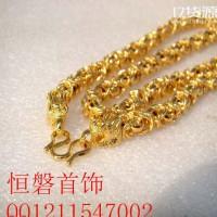 欧币龙皖链 黄铜镀金项链 欧币首饰霸王项链 微商货源支持代发