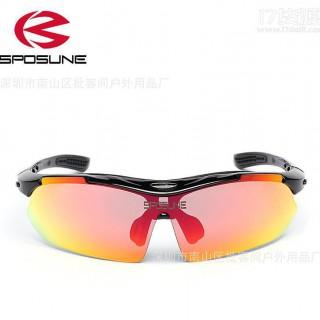 SPOSUNE户外运动骑行太阳眼镜0089自行车眼镜速卖通现货一件代发 骑行眼镜