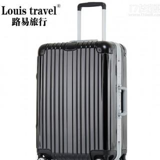 外贸蓝牙智能锁拉杆箱万向轮铝框行李箱手机解锁旅行登机托运箱