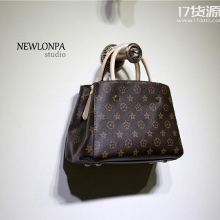 广州女包批发新款荔枝纹购物袋时尚女士真皮包单肩手提包头层牛皮