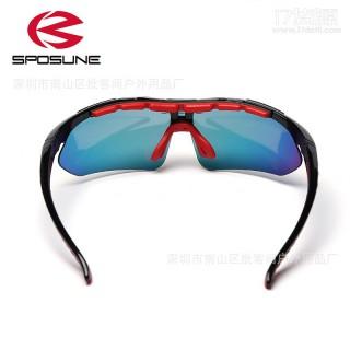 直销 专业户外运动眼镜 骑行防风防尘登山钓鱼眼镜  一件代发