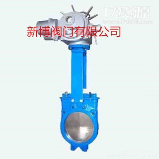 新博阀门  厂家优质生产铸铁优质电动浆液阀    PZ973X-10  铸铁电动浆液阀  售后无忧  一件代发