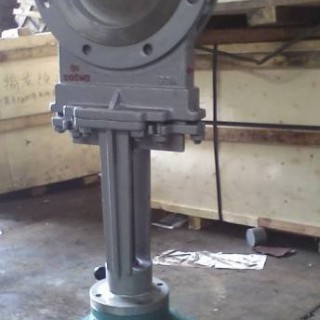 新博厂家  专业生产  优质 PZ973F 电动刀型闸阀  刀闸阀  一件代发