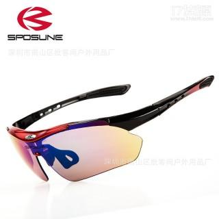 现货 户外骑行护目镜防风防沙风镜运动山地车眼镜PC套装 一件代发 骑行眼镜