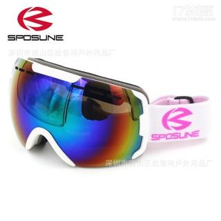 滑雪镜男女滑雪眼镜登山护目镜双层防雾防风镜雪镜 一件代发