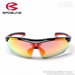 斯讯P-058 骑行眼镜厂家直销 专业户外运动眼镜 骑行防风防尘登山钓鱼眼镜 一件代发
