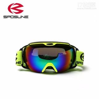 滑雪镜 男女滑雪眼镜 登山护目镜 双层防雾球面防风镜 一件代发