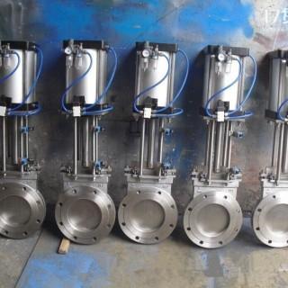 新博阀门  厂家直销  零售  优质气动刀型闸阀插板阀  PZ673H-10C  知名品牌  一件代发