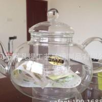 网店货源热销加厚耐热玻璃茶具套装花茶壶花草茶壶 玻璃茶具