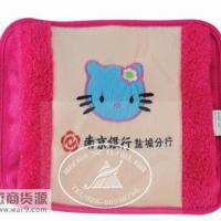 暖手宝烫画 暖水袋刺绣 充电热水袋 广告暖手袋生产批发